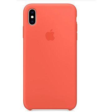 Apple iPhone XS Max Silikonový kryt nektarinkový