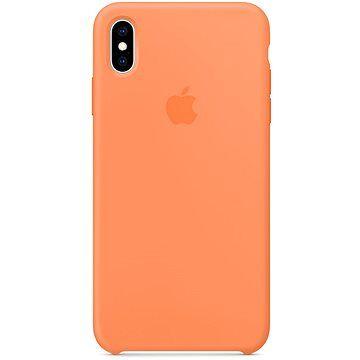 Apple iPhone XS Max Silikonový kryt papájový