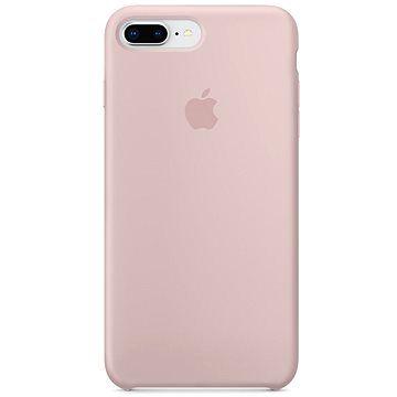 Apple iPhone 8 Plus/7 Plus Silikonový kryt pískově růžový