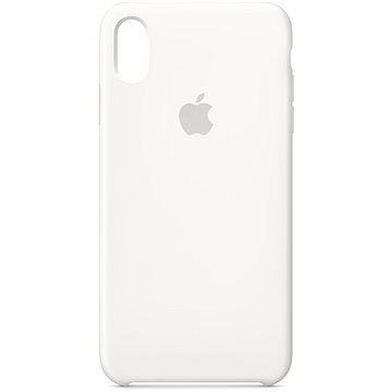 Apple iPhone XS Max Silikonový kryt bílý