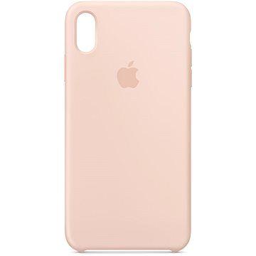 Apple iPhone XS Max Silikonový kryt pískově růžový