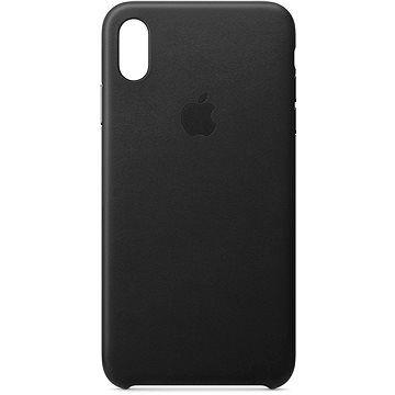 Apple iPhone XS Max Kožený kryt černý
