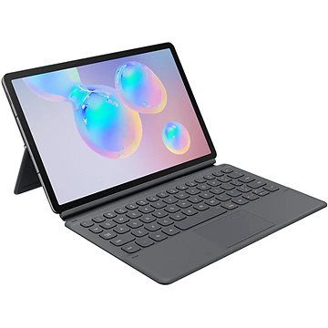 Samsung Ochranný kryt s klávesnicí pro Galaxy Tab S6 šedý