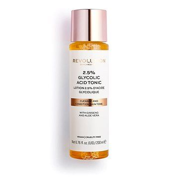 Makeup Revolution REVOLUTION SKINCARE 2.5% Glycolic Acid Tonic 200 ml