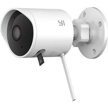 YI Outdoor 1080P Camera White