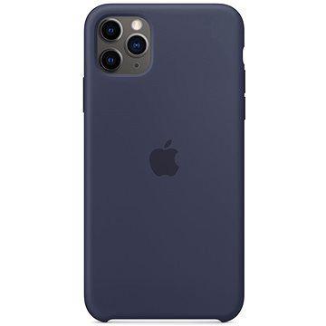 Apple iPhone 11 Pro Max Silikonový kryt půlnočně modrý