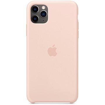 Apple iPhone 11 Pro Max Silikonový kryt pískově růžový