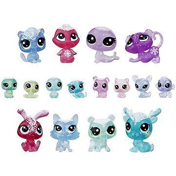 Hasbro Littlest Pet Shop Zvířátka z ledového království 16 ks