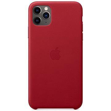 Apple iPhone 11 Pro Max Kožený kryt (PRODUCT) RED