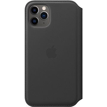 Apple iPhone 11 Pro Kožené pouzdro Folio černé