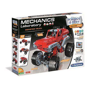 Clementoni Mechanická laboratoř Monster Truck 10 modelů