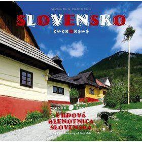 AB Art press Slovensko Ľudová klenotnica Slovenska: The Fol Treasury of Slovakia cena od 434 Kč