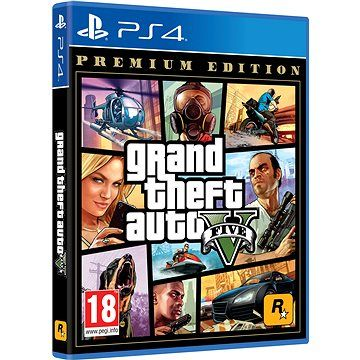 ROCKSTAR GAMES Grand Theft Auto V Premium Edition - PS4