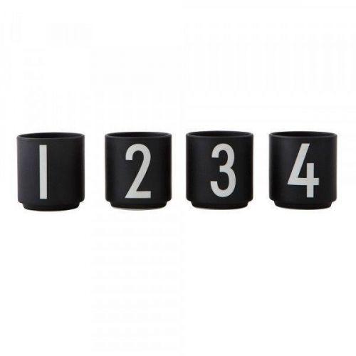 DESIGN LETTERS Set hnečků na espresso 1234