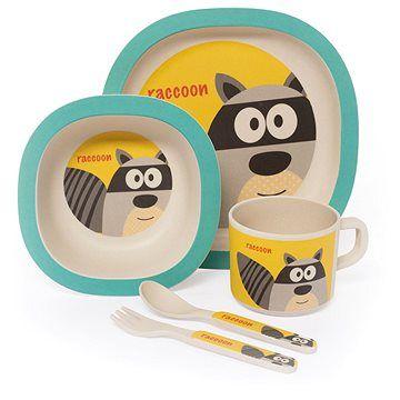 Zopa Bambusová sada nádobí Raccoon