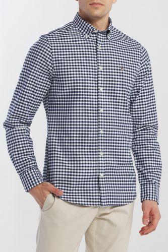 Gant Košile Gant The Oxford Gingham Reg Bd 3046200-619-Ga-423-M Modrá M cena od 2099 Kč