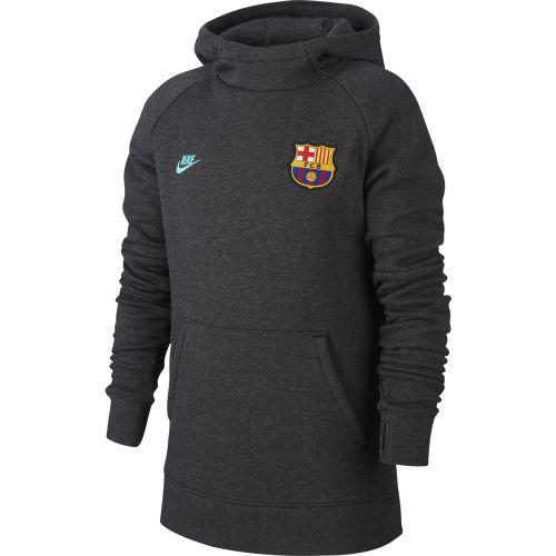 Nike FC Barcelona šedá/světle modrá UK Junior XL Dětské cena od 1199 Kč