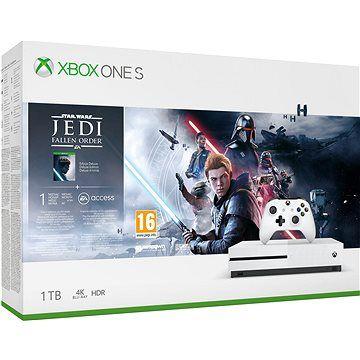 Microsoft Xbox One S 1TB + Star Wars: Fallen Jedi Order