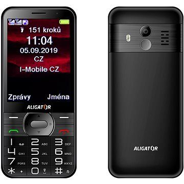 ALIGATOR A900 Senior černý