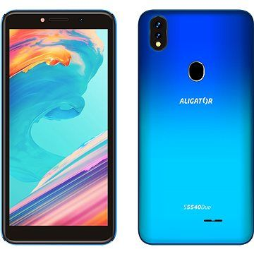 Aligator S5540 Duo 32GB gradientní modrá