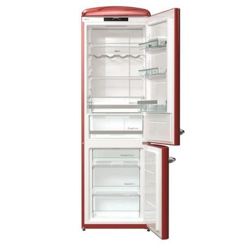Chladnička s mrazničkou Gorenje Retro ONRK193R vínová cena od 23990 Kč
