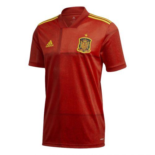 Adidas Španělsko domácí červená/zlatá UK XL Pánské