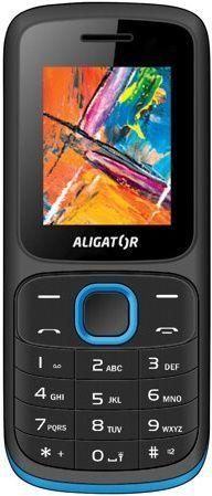 Aligator D210 černo-modrý