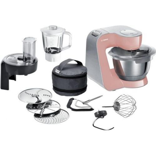 Bosch CreationLine Premium MUM58NP60 růžový cena od 10490 Kč