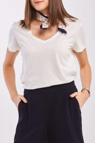 Gant Tričko Gant Cott/Ela C-Neck Ss T-Shirt 4203445-320-Gw-113-Xs Bílá Xs