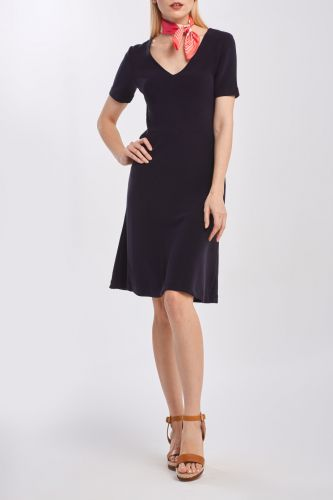 Gant Šaty Gant D1. Rib Structure Dress 4205351-320-Gw-433-Xs Modrá Xs