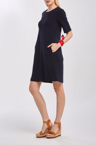 Gant Šaty Gant D1. Jersey Pique Dress 4501060-320-Gw-433-34 Modrá 34