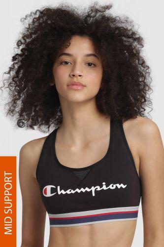 Champion Sportovní podprsenka CHAMPION The Authentic černá S