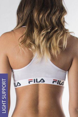 Fila Sportovní podprsenka Fila Underwear White bílá XL