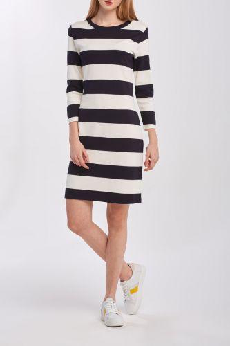 Gant Šaty Gant D2. Barstriped Jersey Dress 4204353-320-Gw-433-Xs Modrá Xs