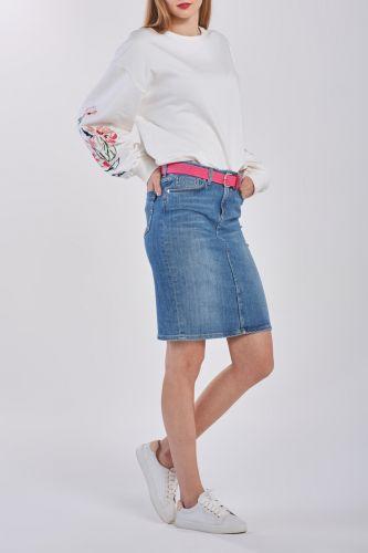 Gant Sukně Gant D1. Blue Denim Skirt 4400019-320-Gw-991-34 Modrá 34