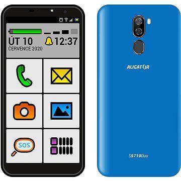 Aligator S5710 Senior 16GB modrá