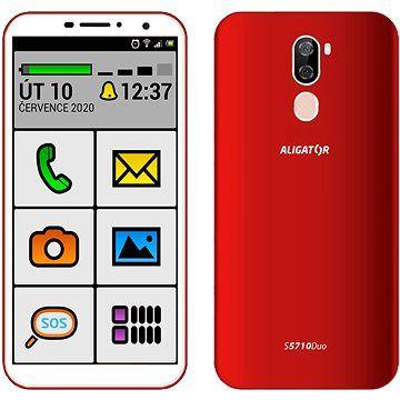 Aligator S5710 Senior 16GB červená