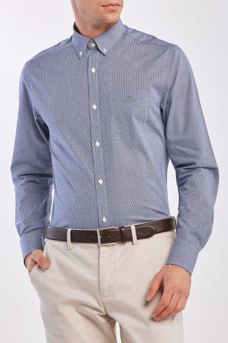 Gant Košile Gant D1. Bc Micro Check Slim Bd Ir 3030209-320-Ga-418-S Modrá S