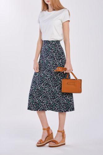 Gant Sukně Gant D1. Gant Ribbon Print Skirt 4401042-320-Gw-433-34 Modrá 34