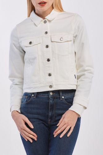Gant Bunda Gant D1. Ecru Jeans Jacket 4700121-320-Gw-113-Xs Bílá Xs
