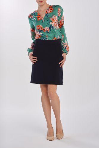 Gant Sukně Gant D1. Jersey Pique Skirt 4401040-320-Gw-433-34 Modrá 34