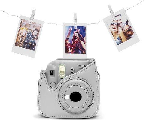 Fujifilm Instax Mini 9 popelavě bílý LED bundle cena od 1990 Kč