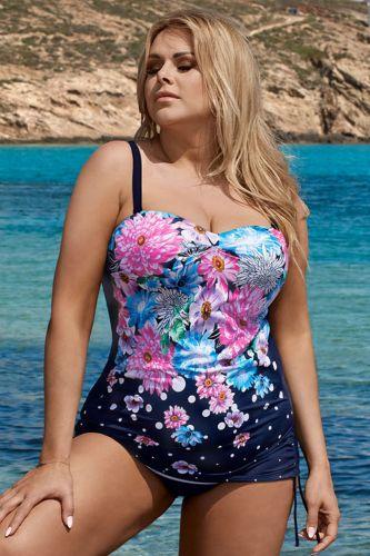 LORIN Jednodílné plavky Sofia barevná 44-C