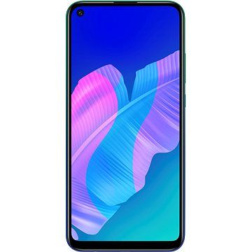 Huawei P40 Lite E modrá