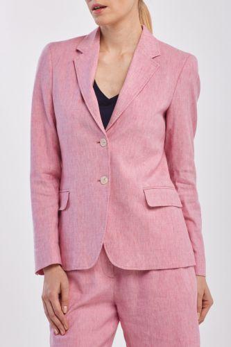 Gant Sako Gant D2. Stretch Linen Regular Blazer 4770079-320-Gw-665-34 Růžová 34