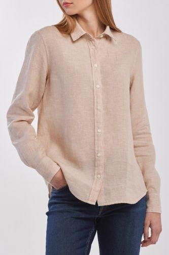 Gant Košile Gant The Linen Chambray Shirt 4321000-320-Gw-277-34 Hnědá 34
