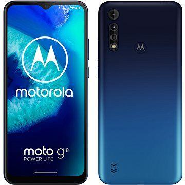 Motorola Moto G8 Power Lite 64GB Dual SIM modrá