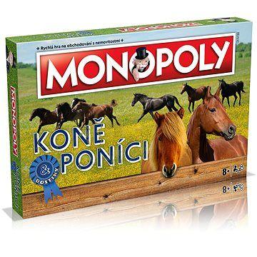 Winning Moves Monopoly Koně a poníci