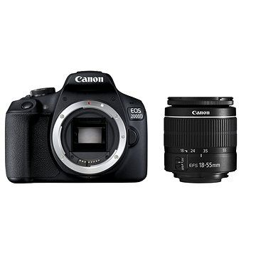 Canon EOS 2000D + 18-55mm DC III