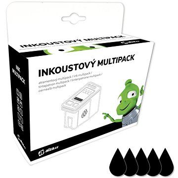 Alza T1281 Multipack černý 5ks pro tiskárny Epson cena od 489 Kč